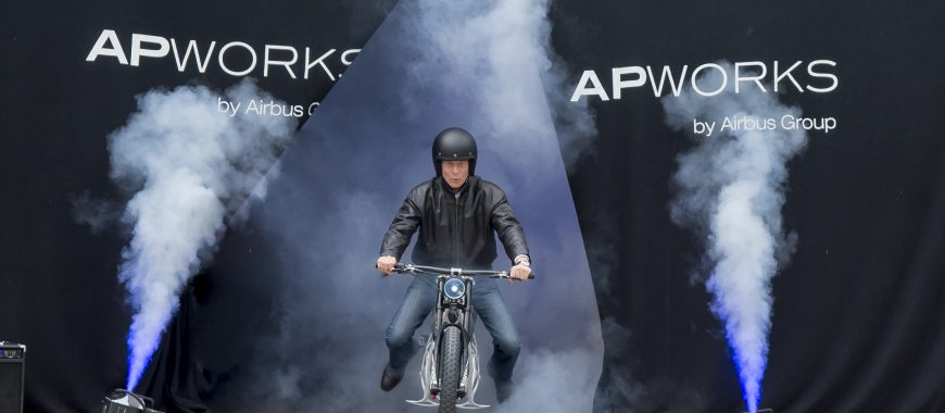 Light Rider, la prima moto al mondo stampata in 3D