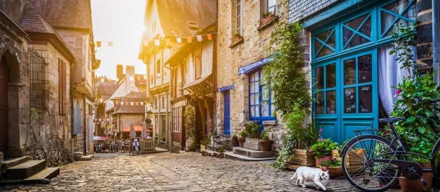 Itineraries: Normandy by motorbike