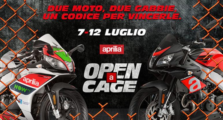 OPEN A CAGE: riuscirai a liberare RS 125 o Tuono 125?