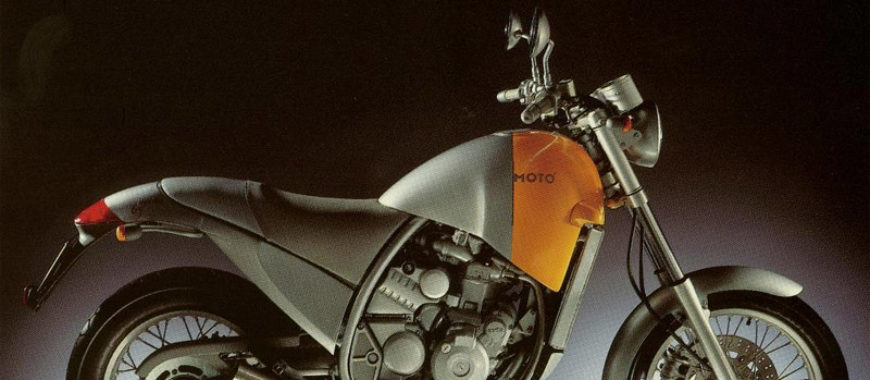 Uncompromising design: the story of the Aprilia Motò 6.5