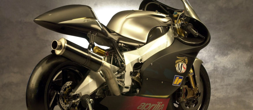 The first Aprilia in the MotoGP: the RS Cube project