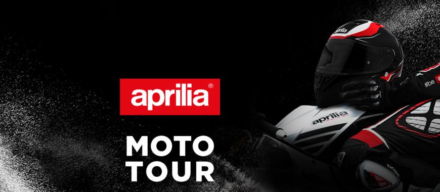 Moto Tour 2018 : un voyage plein d'adrénaline sur les nouveautés Aprilia