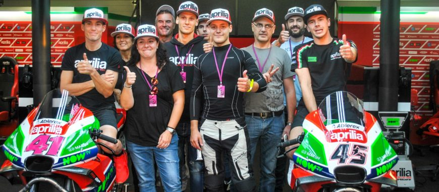 Impressions of the Aprilia Experience Road to Misano