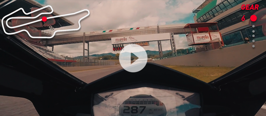 ONBOARD: Max Biaggi talks us around the Mugello circuit