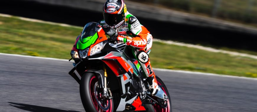 Max Biaggi back in the saddle at Aprilia Racers Days after years, and we were there!