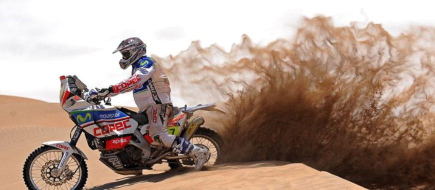 Aprilia RXV 4.5 et l'aventure du Dakar