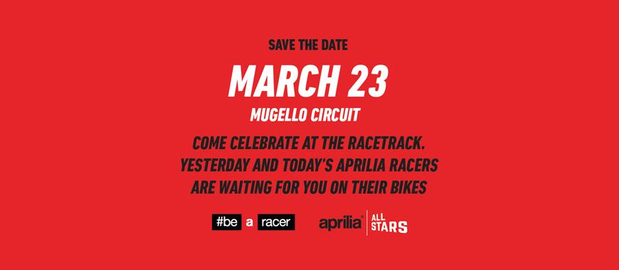 Aprilia All Stars: Save The Date!