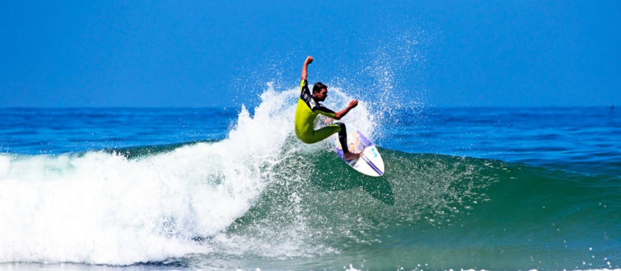 Riding the crest of the wave! Europe's top surfing beaches
