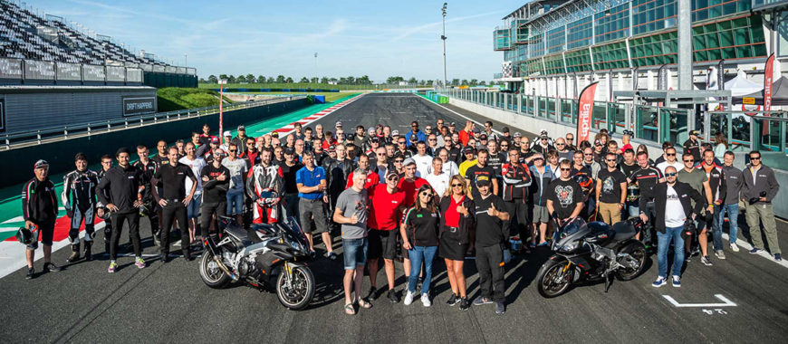Aprilia Racers Days – Exclusive Day: la community francese in pista a Magny-Cours