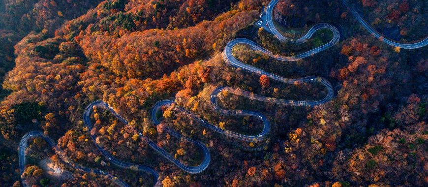 C for Curve: in Japan on the Irohazaka route