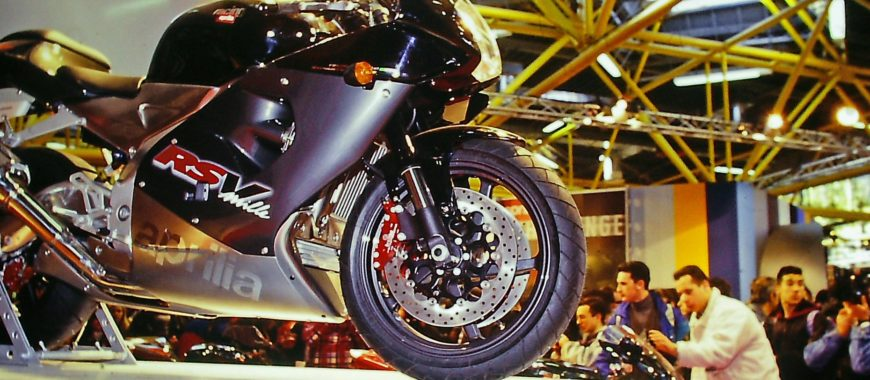 """""""Queens of the shows"""": the Aprilia bikes that have dazzled international trade shows and exhibitions"""